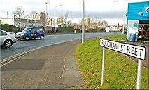 J3475 : Brougham Street, Belfast by Albert Bridge