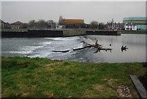 SX9291 : Trews Weir (2) by N Chadwick