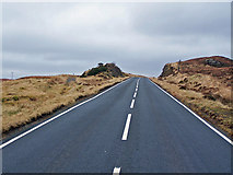 NG4032 : Old road, new road by Richard Dorrell