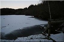 SH6441 : Hafod y Llyn - Frozen by Barry Hunter