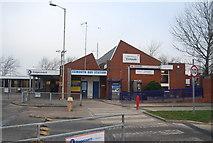 SX9981 : Exmouth Railway & Bus Station by N Chadwick