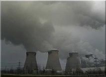 SE4725 : Ferrybridge power station by Steve  Fareham