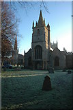 SP0343 : St Lawrence's and All Saints churches, Evesham by Philip Halling