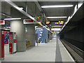 TQ4378 : Opening day at Woolwich DLR station (5) by Stephen Craven
