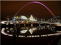 NZ2564 : Gateshead Millennium Bridge by Stephen Sweeney
