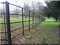 SU6356 : South Paddock fence by Given Up