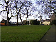 TQ2977 : Pimlico Gardens, Grovesnor Road Pimlico SW1 by PAUL FARMER