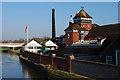 TQ4110 : Riverside brewery by Slbs
