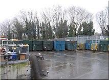 SU6553 : Recycling Skips by Sandy B