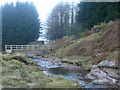SN9819 : Footbridge over the Blaen Taf Fawr by Jonathan Billinger
