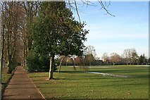 TQ2160 : Alexandra Recreation Ground by Hugh Craddock
