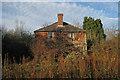 TQ6427 : Derelict Cottages, Batt's Wood Cottages by Oast House Archive