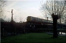 TL3706 : Approaching Broxbourne Station by roger geach