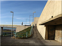 TQ3303 : Access to Brighton Marina by Simon Carey