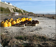 TQ3203 : Stored Buoys by Simon Carey