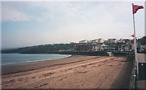 SC2484 : Seafront at Peel by Trevor Rickard