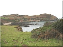 SH4094 : Cliff top path on the east side of Porth Wen bay by Eric Jones