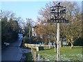 TQ6563 : Harvel Village Sign by David Anstiss