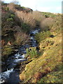 NS4178 : Murroch Burn - a view upstream by Lairich Rig