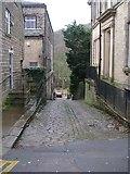 SE1039 : Ferrand Lane - Main Street, Bingley by Betty Longbottom