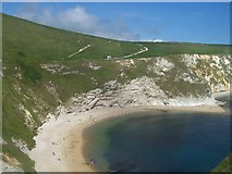 SY8080 : Durdle Door : Cove by Lewis Clarke