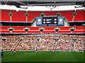 TQ1985 : Inside Wembley Stadium by Martin Thirkettle