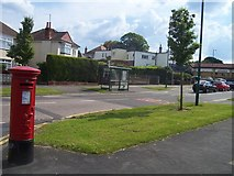SZ0995 : Bournemouth : Muscliffe Lane & Postbox by Lewis Clarke