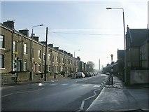 SE0724 : Warley Road - looking towards King Cross by Betty Longbottom