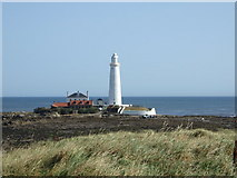 NZ3575 : St Mary's Island, Whitley Bay by Alan Wells