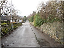 NJ6201 : View down Inchley Terrace by Stanley Howe