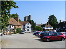 TR0653 : The Square Chilham by PAUL FARMER