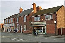 SE9907 : Shops and House on Bridge Street, Brigg by David Wright
