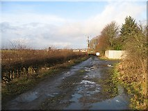 NS6965 : Heatheryknowe Road by Richard Webb