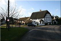 SU2991 : Village street, Fernham by andrew auger