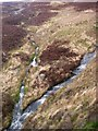 SN7016 : Confluence on the Nant Pedol by Alan Bowring