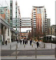 SJ8398 : Hardman Boulevard, Spinningfields by David Hawgood