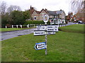 TM2251 : Old Road Sign, Grundisburgh by Geographer