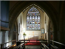 ST4347 : St. Mary's church, Wedmore - interior by Jonathan Billinger