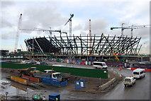 TQ3783 : 2012 Olympic Stadium, January 2009 by N Chadwick