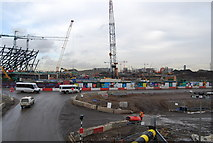 TQ3783 : 2012 Olympic site (building site) by N Chadwick