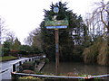 TM2046 : Rushmere St Andrew Village Sign by Adrian Cable