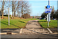 SK5535 : Footpath and Cycleway by David Lally