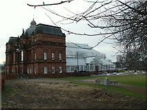 NS6064 : People's Palace and Winter Gardens. by John Fielding