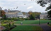 SK0573 : Buxton Pavilion gardens by Bob Abell