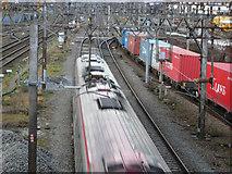 TQ2182 : West Coast Main Line, Willesden Junction by Stephen McKay