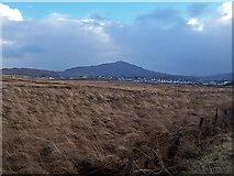 NG4745 : Moorland towards Portree by Richard Dorrell