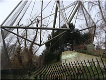 TQ2883 : Snowdon Aviary London Zoo by Sheila Madhvani
