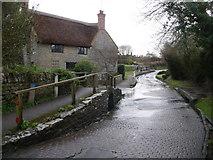 ST5707 : Melbury Osmond: Bridge Farm by Chris Downer