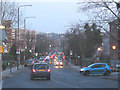 TQ4177 : Shooters Hill Road at dusk by Stephen Craven