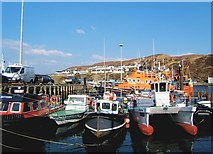 NM6797 : Mallaig harbour by AlastairG